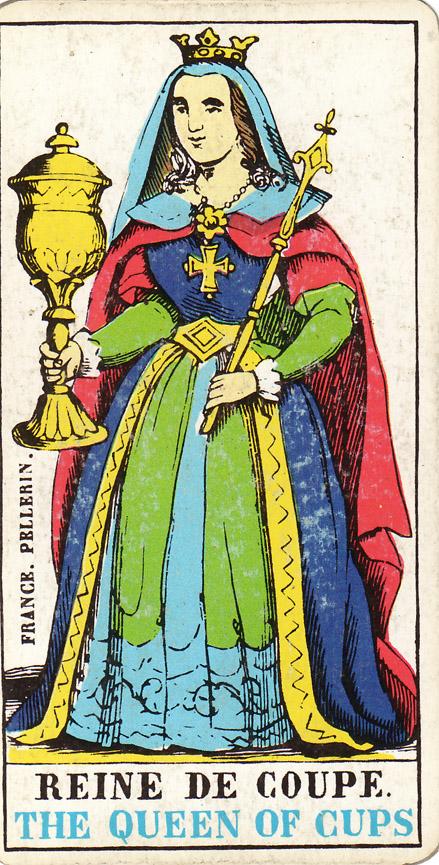 Tarotova Karta Kralovna Poharu Numerologie Jmena A Prijmeni